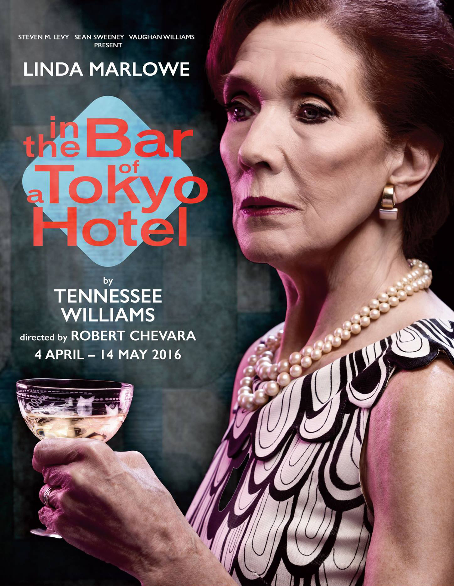 Linda Marlow In The Bar of A Tokyo Hotel
